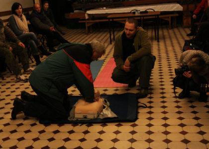 Szkolenie z zakresu pierwszej pomocy dla osób bezdomnych