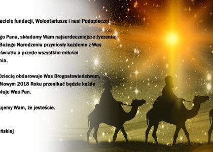 Najserdeczniejsze życzenia z okazji Świąt Bożego Narodzenia