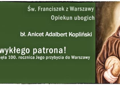 Święty Franciszek z Miodowej